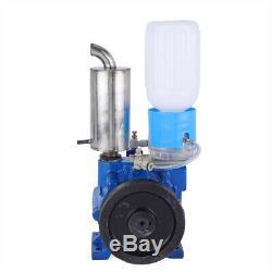 110V Electric Vacuum Impulse Pump Fit For Cow Milker Goat Milking Machine 250L/M