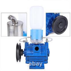 110V Vacuum Pump For Cow Milking Machine Milker Bucket Tank Barrel 250L/min NEW