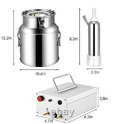 14L Milking Machine Cows Goat Automatic Electric Vacuum Suction Pump Milker
