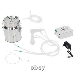 14L Plug-in Household Electric Goat Cow Milking Machine Milker Kit With Vacuu