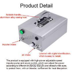 14L Upgraded Dual Heads Farm Milking Machine Vacuum Impulse Pump Cow Milker
