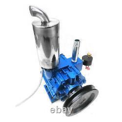 220 L/min Milking Machine Vacuum Pump Cow Goat Milker Steel Barrel 1440r/min new