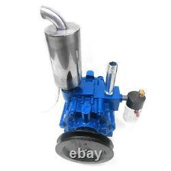 220L/min Vacuum Pump Cow Milking Machine Milker Bucket Milking Machine Stainless