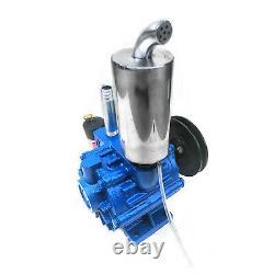 220L/min Vacuum Pump For Cow Milking Machine Milker Bucket Tank Barrel Cattle US