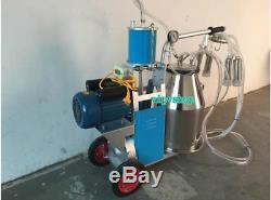 220V Electric Milk Milking Machine Fit For Cows Piston Type Milking Machine