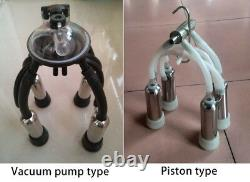 240CC Cow Cattle Milking Cluster Milk Cup Set For Vacuum Pump Milking Machine