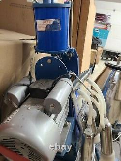 25L Electric Milker Milking Machine For Goats Cows WithBucket LOCAL PICKUP -(WH)