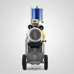 25L Electric Milking Machine For Goats Cows WithBucket 550W 2 Plug 1440RPM GOOD