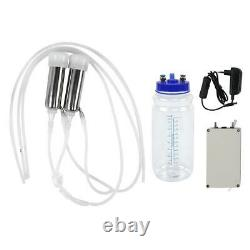 2L Electric Milking Machine Portable Stainless Steel Milker For Cows Goat Supply