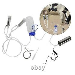 2L Electric Milking Machine Portable Vacuum Cattle Cow Milking Machine Sheep