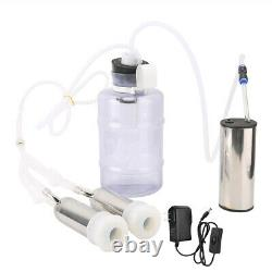 2L Household Electric Goat Cow Milking Machine With Vacuum-Pulse Pump for Co