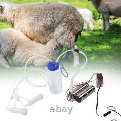 2L Portable Electric Milking Machine Milker Cow Sheep Milk Pump Electric Impulse