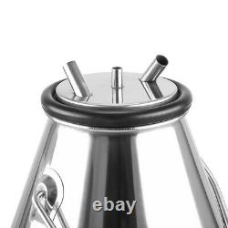 304# Stainless Steel Cow Milking Machine Bucket Tank Barrel Portable quality