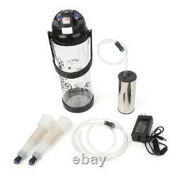 3L Portable Vacuum Pump Electric Barrel Milking Machine Fit Cow Milker