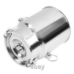5L Cow Milker Electric Milking Machine Home Sheep Pulse Type Vacuum Pump Bucket