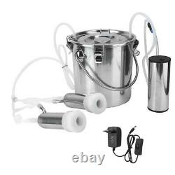 5L Household Electric Goat Cow Milking Machine with Vacuum-Pulse Pumps for Cow