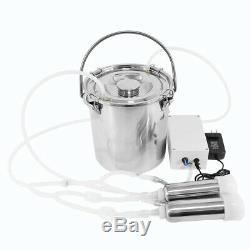 5L Portable Electric Milking Machine For Farm Cow With Food-Grade Material