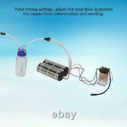 5L Portable Electric Milking Machine Vacuum Pump Cow Farm Goat Milking