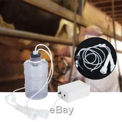 5L Portable Electric Milking Machine Vacuum Pump For Farm Cow Sheep Goat Mini