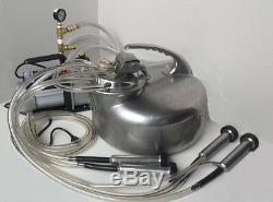American Made MILKING MACHINE SURGE-COW-GOAT-SHEEP- VACUUM PUMP COMPLETE SYSTEM