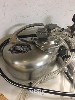BUDGET SALE! Surge Portable Goat/Cow Milk Machine, Oilless Vacuum Pump