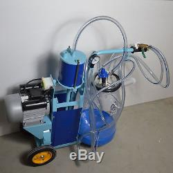 Brand New Goat & Cow Piston Milking Machine Milker Transparent Bucket #170685