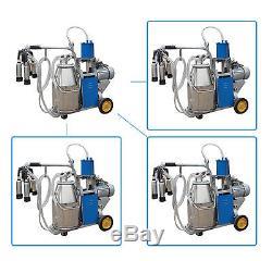 CE FDA Electric Milking Machine For farm Cows Bucket bid sale ONLY milker piston