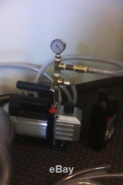 Complete Milking Machine-cow-goat-sheep-new 1/3 HP Vacuum Pump