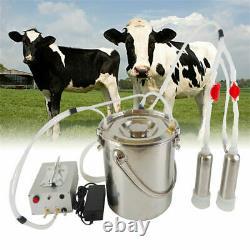 Cow Goat Milking Machine Pulsation Vacuum Pump Milker Automatic Livestock