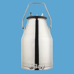 Cow Milker 304 Stainless Steel Milk Bucket Cow Milking Equipment Canada Stock