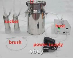 Cow Milker Electric Milking Machine Stainless Cows Vacuum Impulse Pump Milker