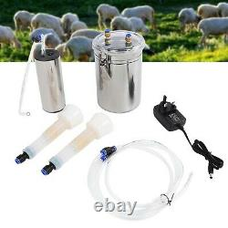 Cow Milking Machine 2L Electric Milking Machine Portable Stainless Steel Catt