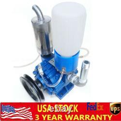 Cow Milking Machine Vacuum Pump Bucket Tank Barrel 250 L/min with Belt pulley