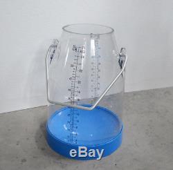 Cow piston milking machine milker Transparent Bucket