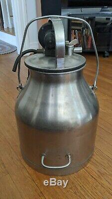 Delaval De Laval Stainless Steel Dairy Cow Milker Milking Machine Tank & Parts