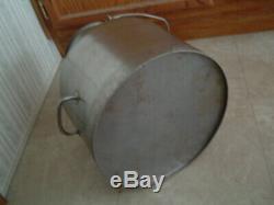 Delaval Stainless steel milker bucket can milking milk cow goat dairy farm ss