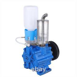 Electric Automatic Vacuum Pump Fit Cow Milking Machine Milker Bucket Tank Barrel