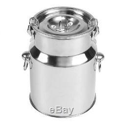Electric Barrel Milking Machine Pulse Vacuum Pump for Cow Goat Milker Tank 5L
