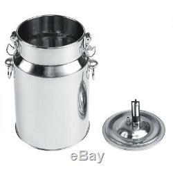 Electric Barrel Milking Machine Pulse Vacuum Pump for Cow Goat Milker Tank 7L