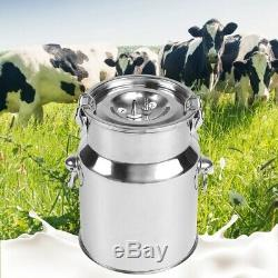 Electric Barrel Milking Machine Pulse Vacuum Pump for Cows Goat Milker Tank 5L