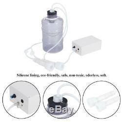 Electric Barrel Milking Machine Vacuum Pump for Cow Goat Milker Tank 5L