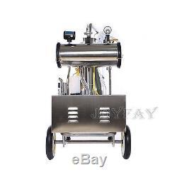 Electric Cow Milking Machine Vacuum Pump One Bucket Milker 50 Kpa 0.75 KW