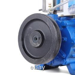 Electric Milking Machine Cow Sheep Goat Milker Horizontal Vacuum Pump 250 L / m