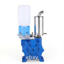 Electric Milking Machine Cow Sheep Goat Milker Horizontal Vacuum Pump 30 m 3/h
