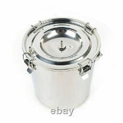Electric Milking Machine Efficient Vacuum Impulse Pump Cow Milker 110V 5L Bucket