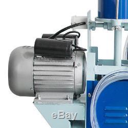Electric Milking Machine For Farm Cows With Bucket Vacuum Piston Pump-Warranty