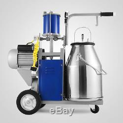 Electric Milking Machine For Farm Cows WithBucket Adjustable 12Cows/hour Sheep