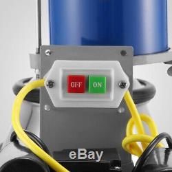 Electric Milking Machine For Farm Cows WithBucket Adjustable Pioton 25L 1440RPM US