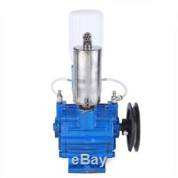 Electric Milking Machine Vacuum Pump Strong Suction Milker Tank For Cow Farm US