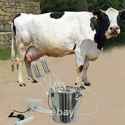 Electric Portable Milking Machine for Cows, Impulse Milking Supplies Vacuum